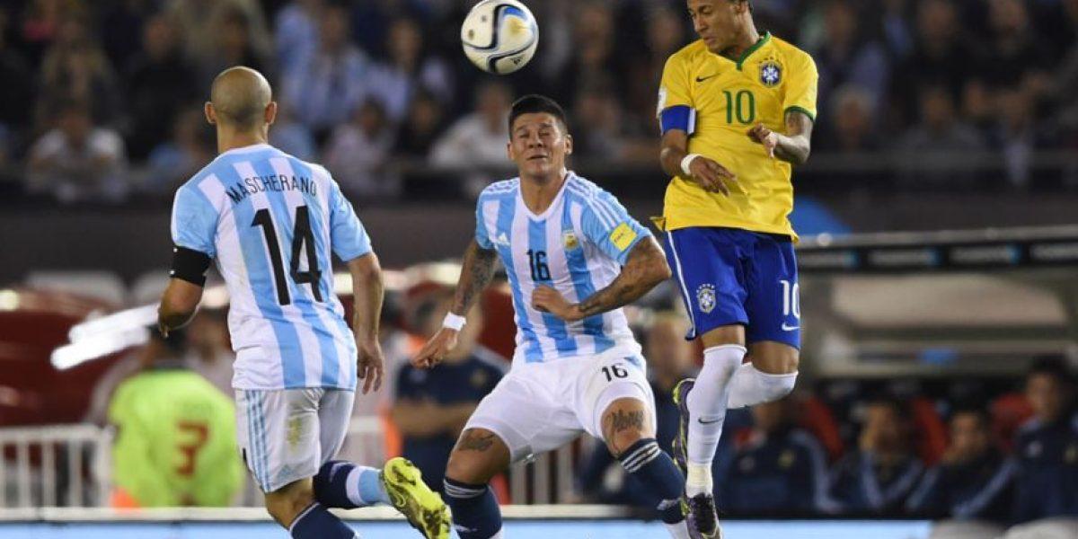 Sudamérica se paraliza con el clásico Brasil-Argentina