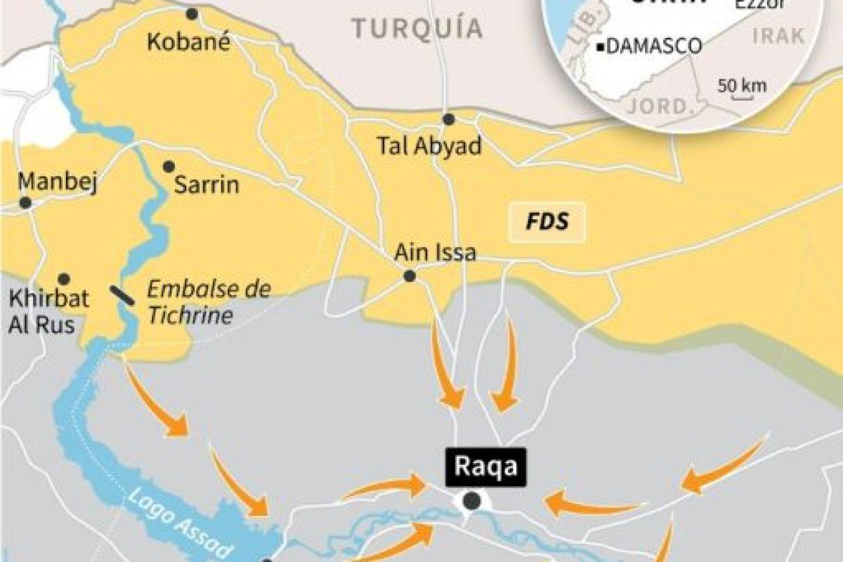 La batalla por Raqa Foto:Omar KAMAL, Kun TIAN, Thomas SAINT-CRICQ, Paz PIZARRO/afp.com