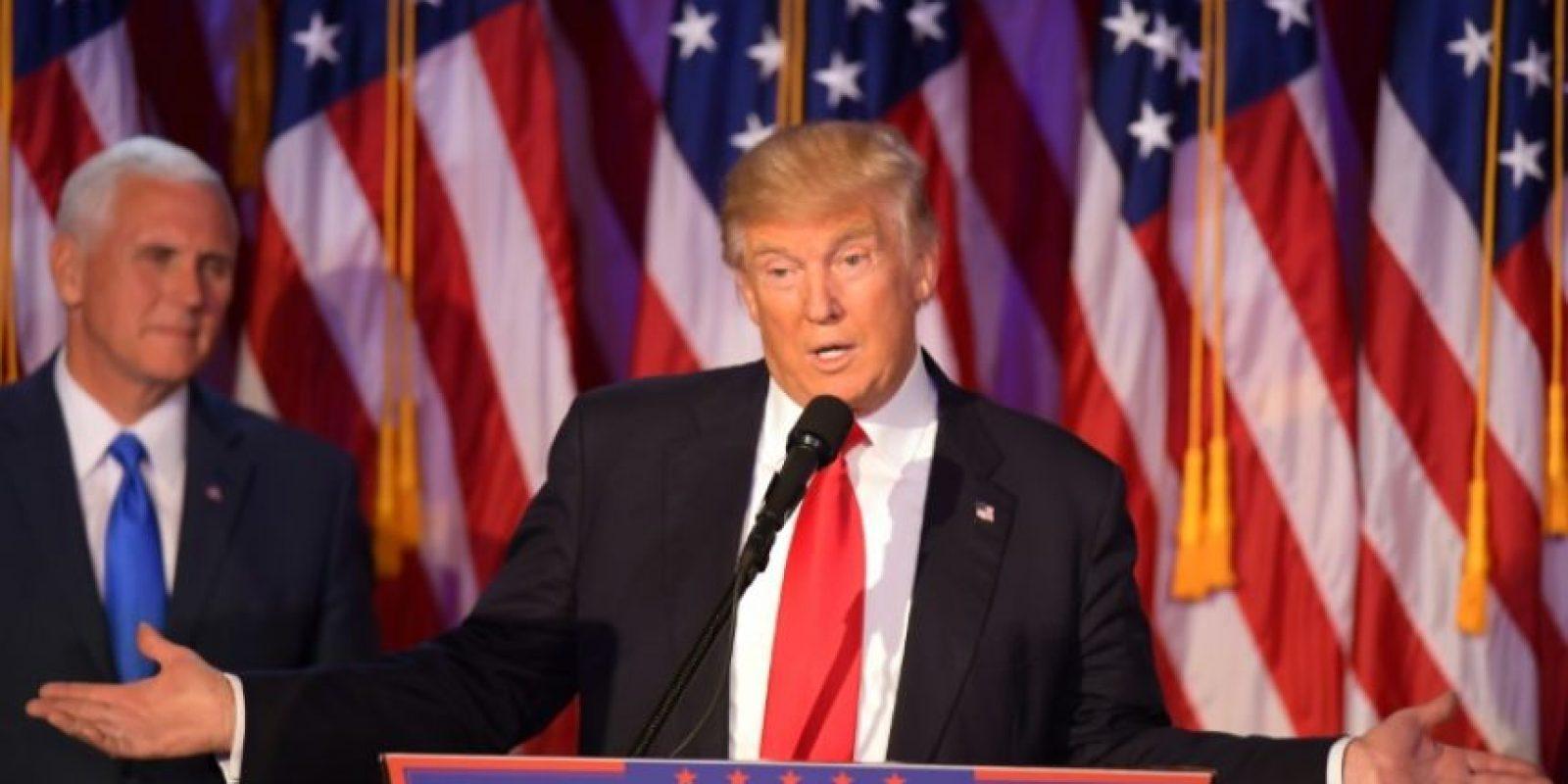El republicano Donald Trump, el 9 de noviembre de 2016 en Nueva York Foto:Jim Watson/afp.com