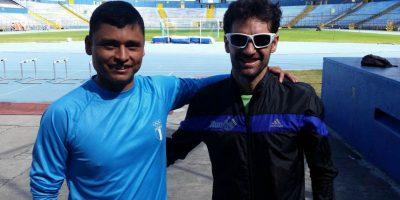 Inicia el trabajo de Erick Barrondo y su nuevo entrenador
