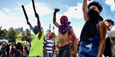 """Daños por disturbios en zona 1 serían de Q2 millones y comuna insiste en que no dialogará con """"terroristas"""""""