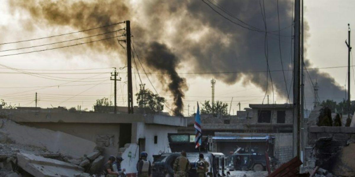 Las fuerzas de élite iraquíes avanzan en las calles de Mosul