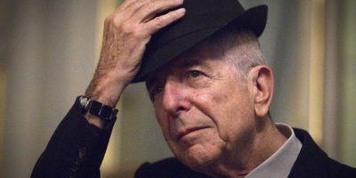 El cantante, compositor y poeta y canadiense Leonard Cohen murió a los 82 años