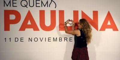 """AP Foto:Paulina Rubio presentó hoy """"Me Quema"""", su nuevo sencillo"""