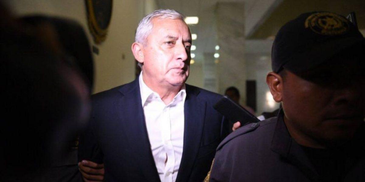 MP obtiene amparo provisional en proceso de extinción de bienes de Otto Pérez Molina