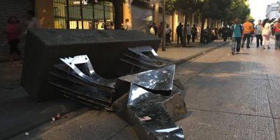 """Pepo Toledo, creador de esculturas dañadas en el Paseo de la Sexta: """"El arte es trascendental, el vandalismo no"""""""