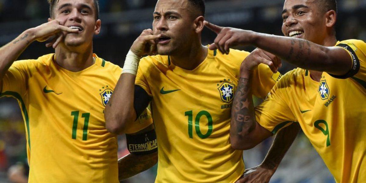 Neymar acecha el récord de Pelé en la Selección de Brasil