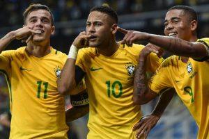 Getty Images Foto:Neymar se acerca a los máximos goleadores históricos de Brasil