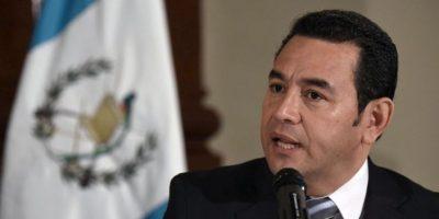 Jimmy Morales emitió su opinión con respecto al aborto en actividad en Parque de la Industria