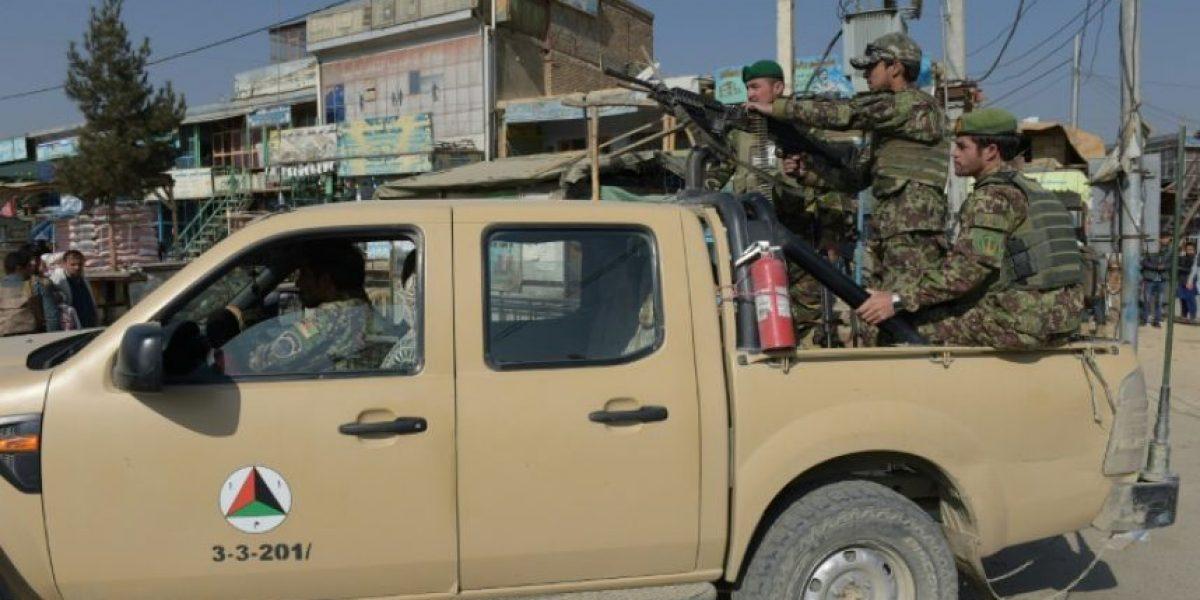 Cuatro muertos en atentado talibán en una base de EEUU en Afganistán