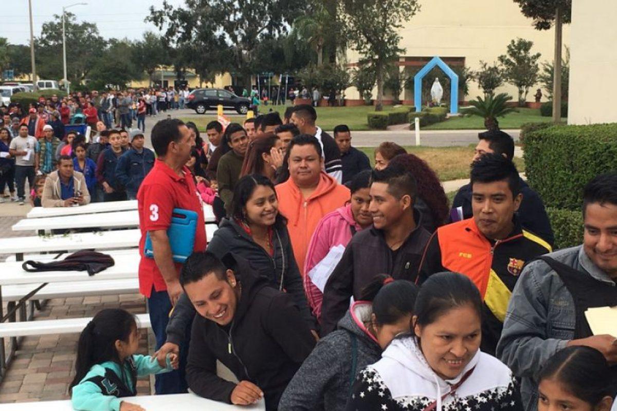 Guatemaltecos en Orlando asisten a reunión de Conamigua Foto:Twitter