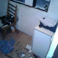 El robo en la sede. Foto:Cortesía