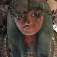 AFP Foto:Esta es la momia encontrada en Egipto