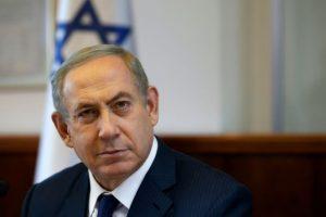 El primer ministro israelí, Benjamin Netanyahu, en la reunión semanal de su gabinete de gobierno en su oficina en Jerusalén, el 13 de noviembre de 2016 Foto:Ronen Zvulun/afp.com