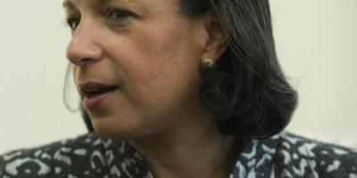 La Consejera de Seguridad Nacional estadounidense, Susan Rice, en una entrevista exclusiva con AFP en su despacho en la Casa Blanca, en Washington el 14 de noviembre de 2016 Foto:Saul Loeb/afp.com