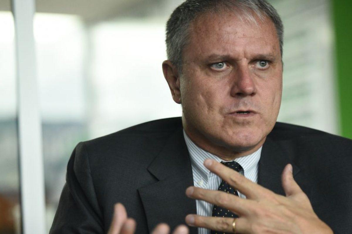 Stefano Gatto, embajador de la Unión Europea Foto:Oliver de Ros