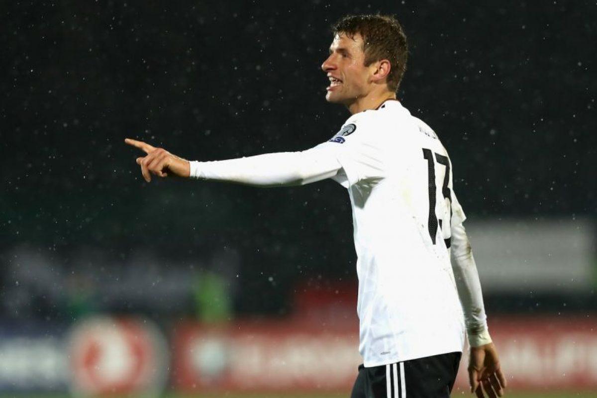 Getty Images Foto:Thomas Muller criticó el tener que jugar con selecciones como San Marino
