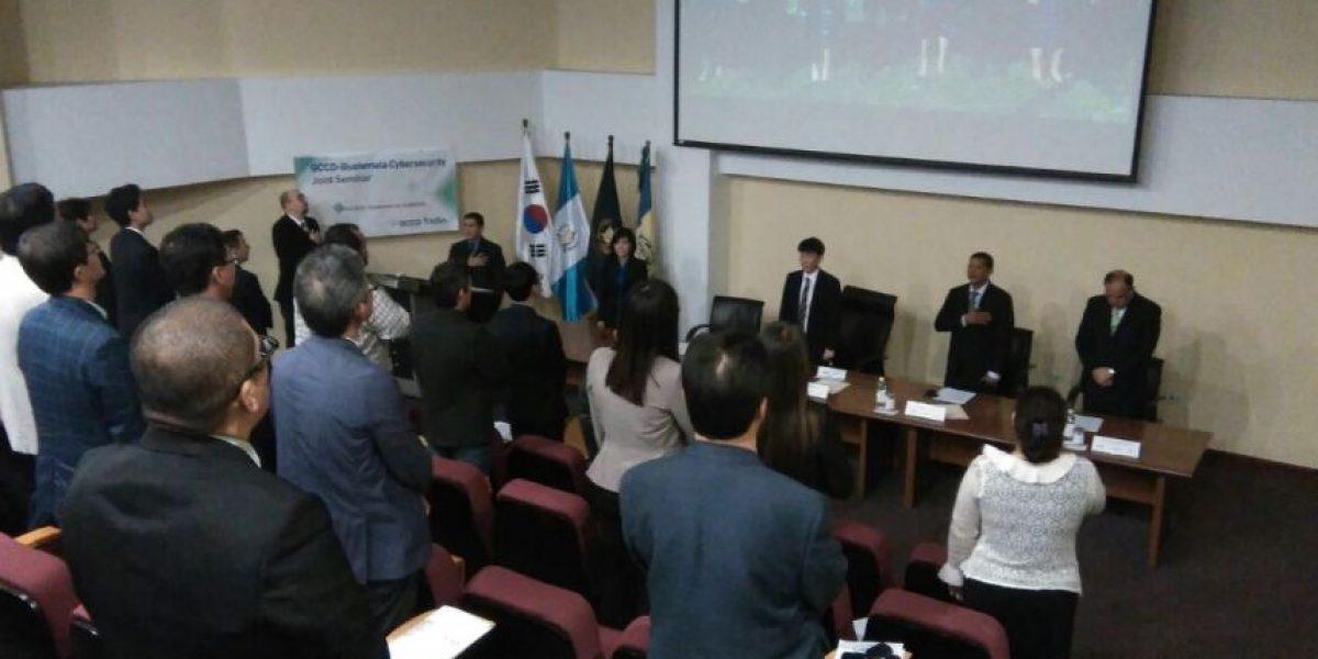 Guatemala revisa las estrategias de protección de las páginas web con expertos de Corea del Sur