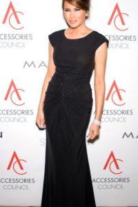 Foto:Un vestido de gala menos sugerente.