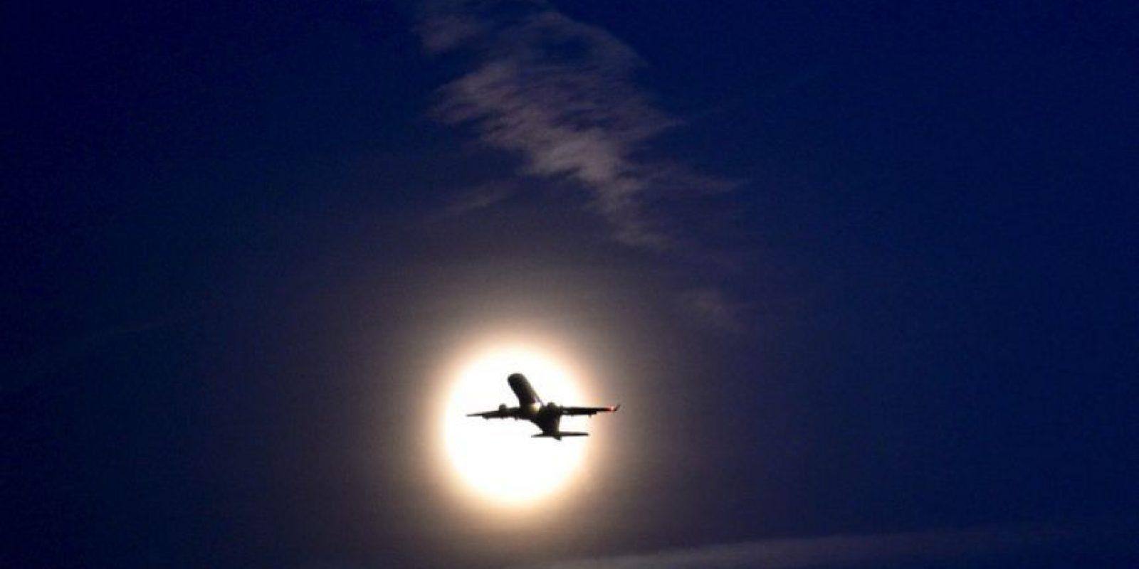 Otra toma desde Londres Foto:AFP