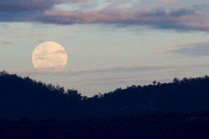 Así comenzó a verse en Australia hace unas horas Foto:AFP