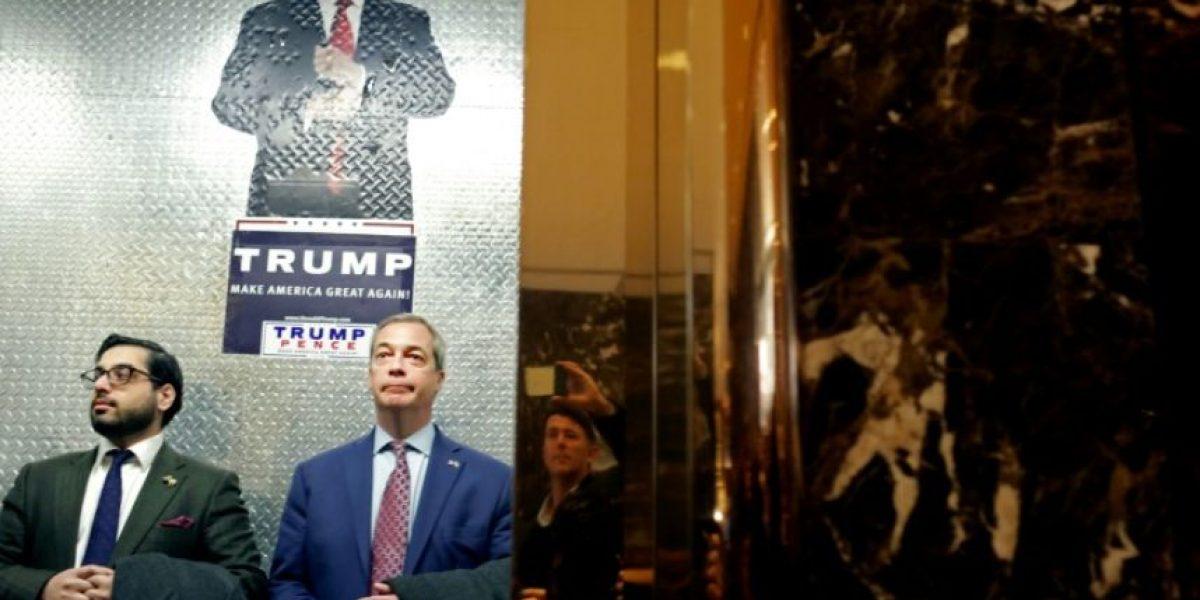 Irritación en Reino Unido tras la entrevista de Farage y Trump