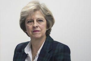 La primera ministra británica, Theresa May, durante un evento en Londres el 14 de noviembre de 2016 Foto:Jack Taylor/afp.com