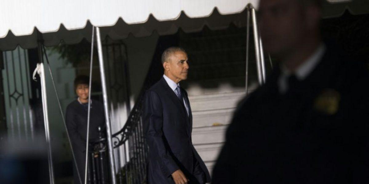 El presidente Obama parte en su último viaje oficial al exterior