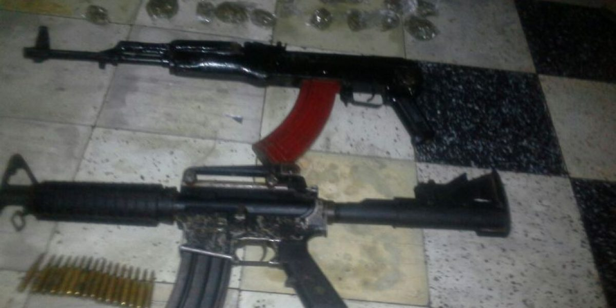 Localizan escondite de armas de pandilleros en Ciudad Real 1