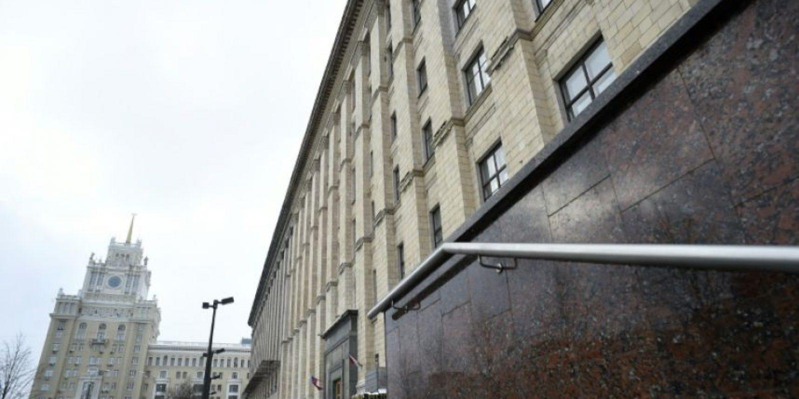 El ministerio de Desarrollo Económico de Rusia, en Moscú, en una imagen del 15 de noviembre de 2016 Foto:Yuri Kadobnov/afp.com
