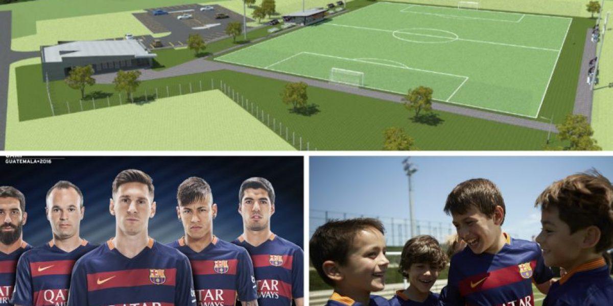 Conoce los detalles de la escuela que el FC Barcelona abrirá en Guatemala