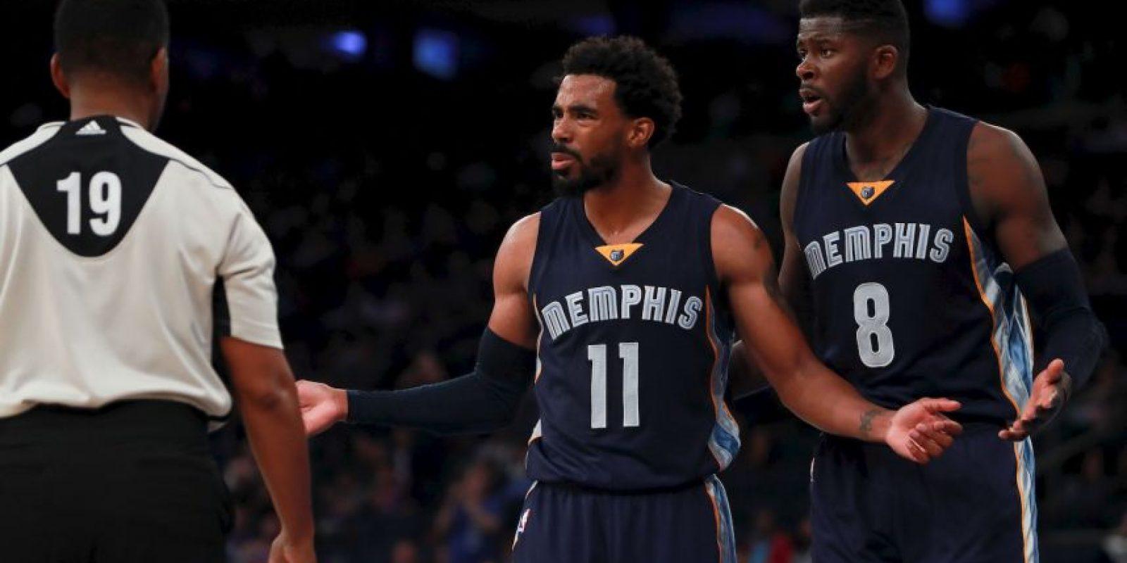 Getty Images Foto:7.- Memphis Grizzlies (NBA) – 7,288,005 millones de dólares de sueldo anual en promedio