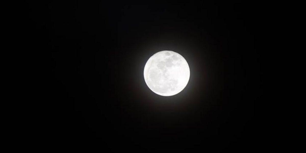La súper Luna desde Guatemala