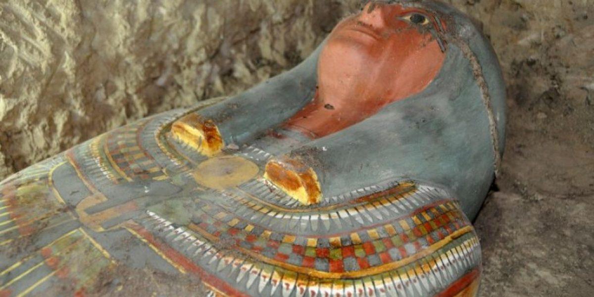 Egipto: Hallan una momia de 3 mil años en increíbles condiciones