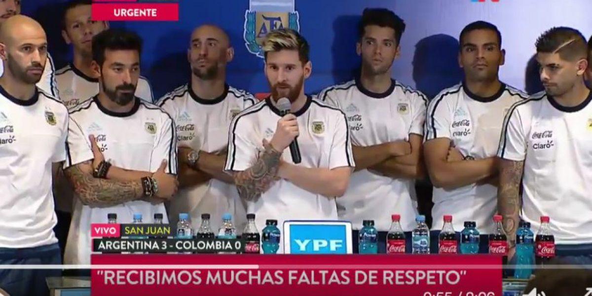 VIDEO. Acusan de fumar marihuana a Lavezzi y así reaccionó Messi