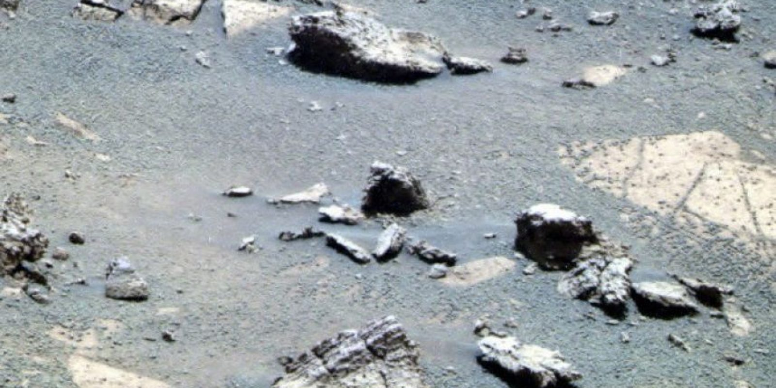 Una roca con la forma de la silueta de la cabeza de Trump fue descubierta en Marte. Foto:nasa.gov