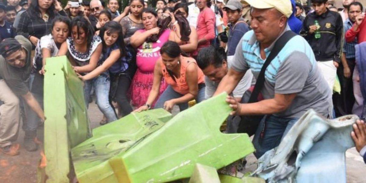 Vendedor es beneficiado con fianza de Q150 y es procesado por los disturbios en el Paseo de la Sexta