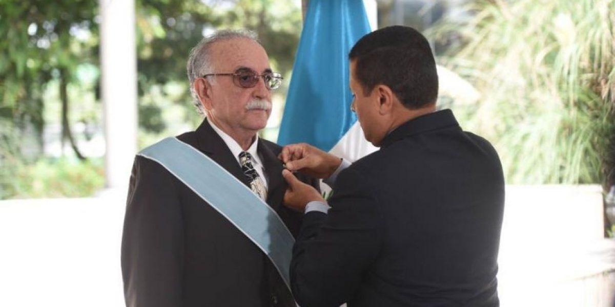 Presidente de Fundación G&T Continental recibe Orden del Quetzal