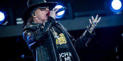 VIDEO. Fantasma interrumpe concierto de Guns N