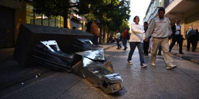 Autohotel aprovecha destrozos en zona 1 para hacer publicidad y así son las reacciones