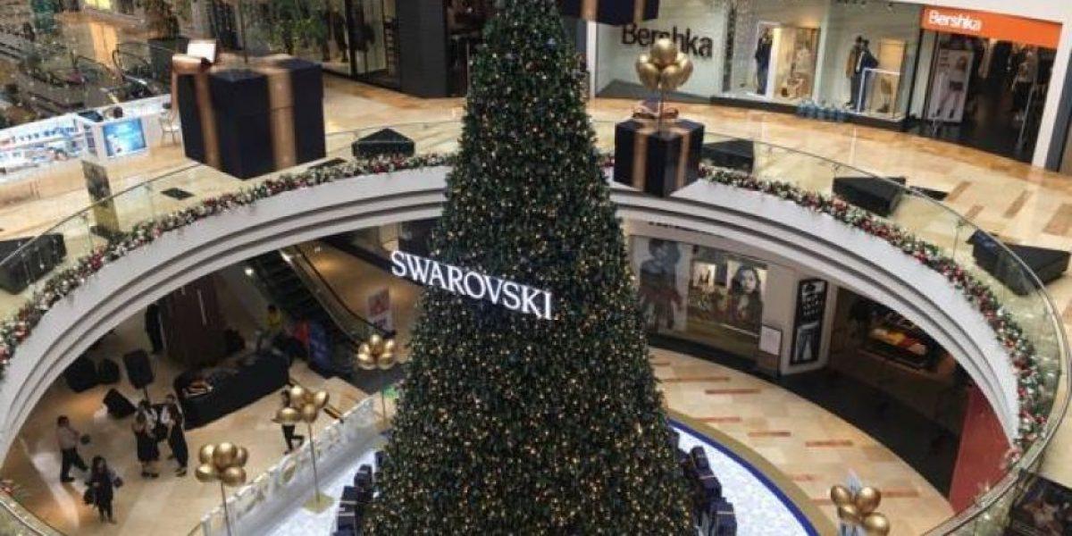 Visita el árbol navideño de más de Q2.5 millones en Guatemala