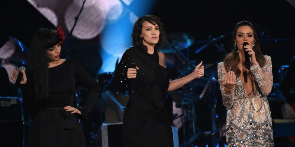 #LatinGRAMMY. Gaby Moreno le cantó a Marc Anthony