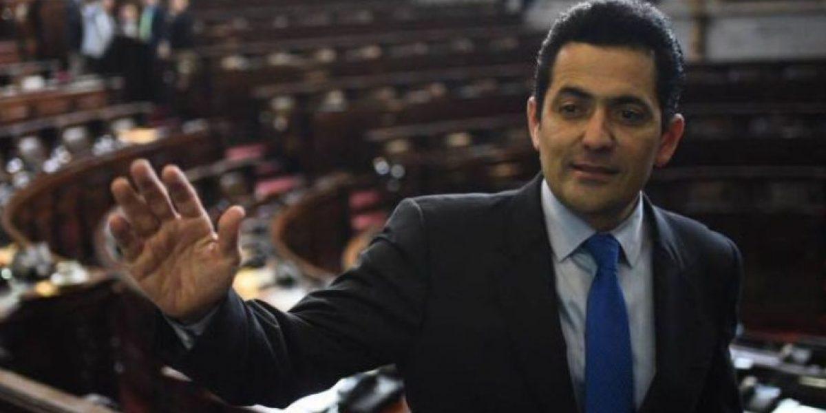 Oscar Chinchilla habla de la reunión que sostuvo con Jimmy Morales