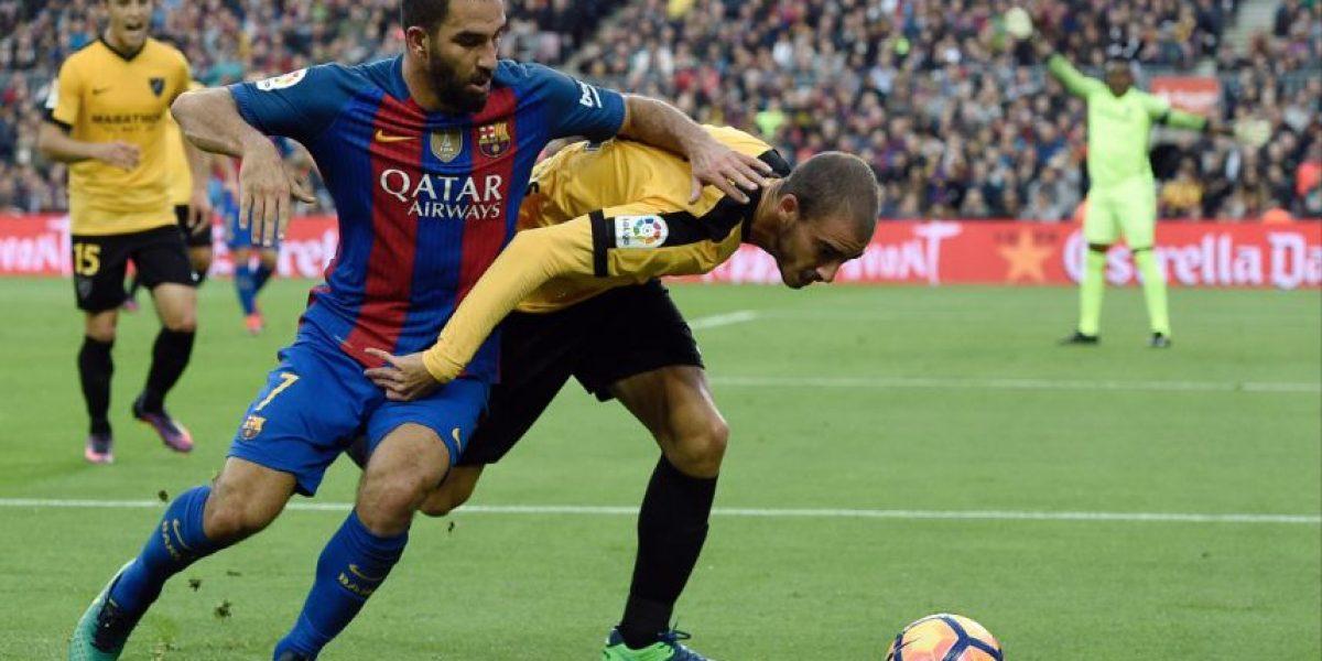 El Barcelona sufre la ausencia de Messi y se atasca ante el Málaga