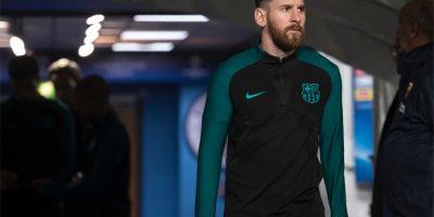 Messi enferma y enciende las alarmas minutos antes del partido ante el Málaga