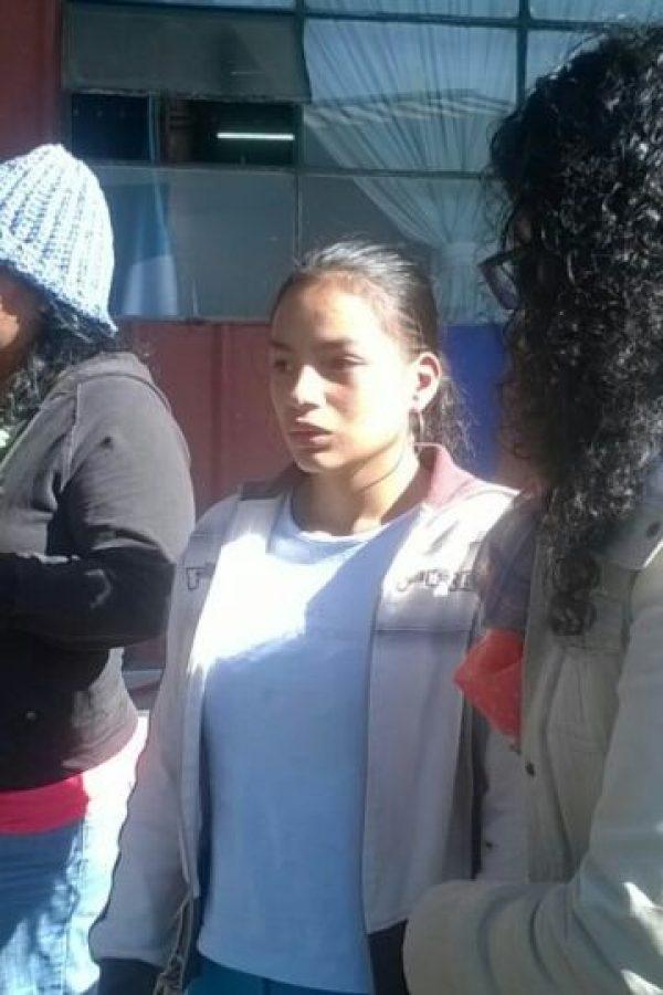 la joven madre Josseline Michell Sosa Hernandez de 18 años Foto:Cortesía