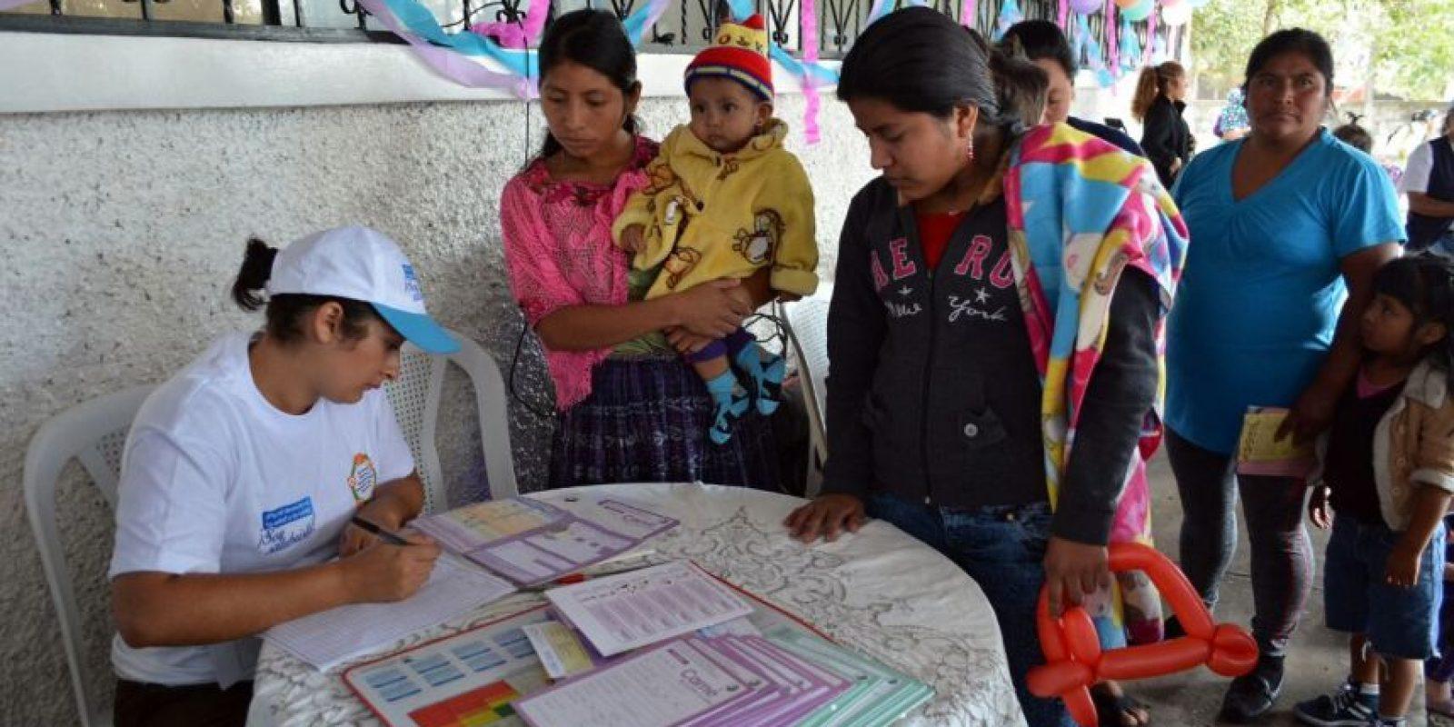 Vacunación. Foto:Cortesía