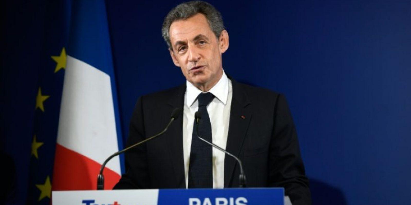 El expresidente de Francia Nicolás Sarkozy reconoce, el 20 de noviembre de 2016, su derrota en las elecciones primarias por la candidatura de la derecha para las presidenciales de 2017 Foto:ERIC FEFERBERG/afp.com