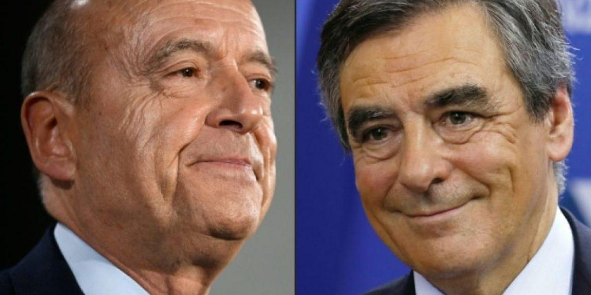 Fillon y Juppé, los dos aspirantes de la derecha a la presidencia de Francia