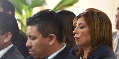 """""""Ni lo conozco"""" dice Anabella de León acerca del hijo y del hermano de Jimmy Morales"""
